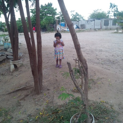 Lupita greets us